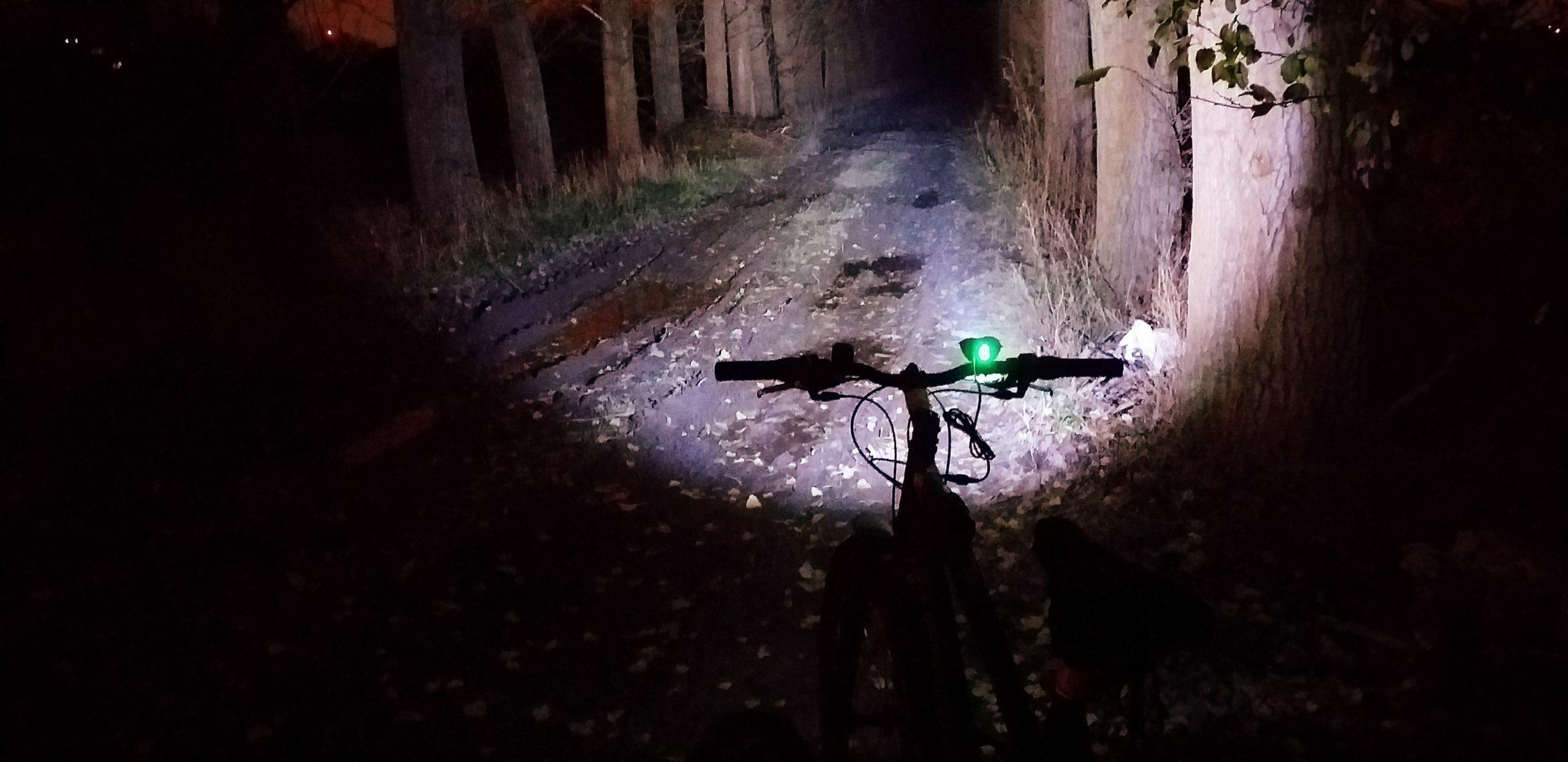 Lampka rowerowa Dual